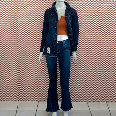 Conjunto Jeans Feminino | Rafa Moda