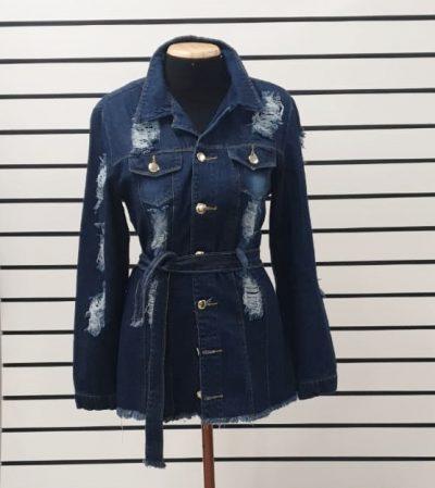 Maxi Jaqueta Jeans | Amorim Modas