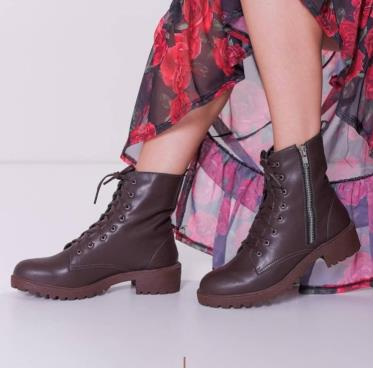Bota Coturno | Vivi Shoes