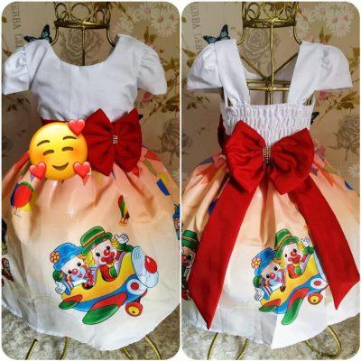 Vestido infantil Patati Patatá