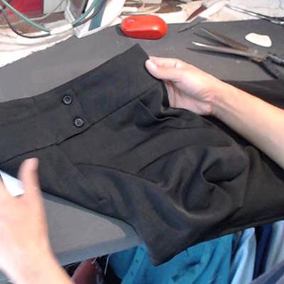Ajuste em calça social feminina | Espaço da Costura