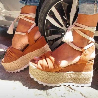 Sandália flatform | Andarela