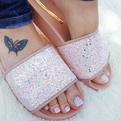 Slide Maxxi Glitter Moleca | Andarela