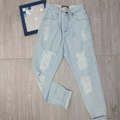 Calça jeans destroyed | Mani's