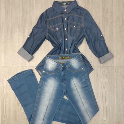 Camisa e calça jeans | Cia do Jeans