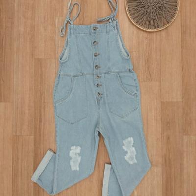Jardineira jeans | Tony Modas
