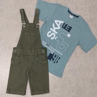 Jardineira e blusa infantil | Sonho de Criança