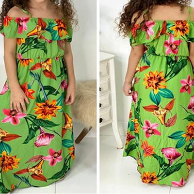 Vestido longo infantil | Lenita Kids